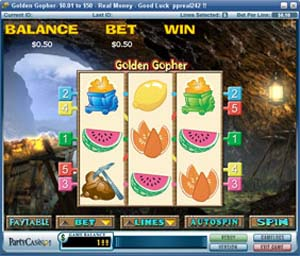 Golden Gopher Slot
