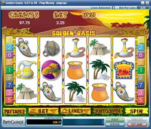Golden Oasis Slot