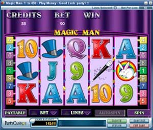 Magic Man Slot