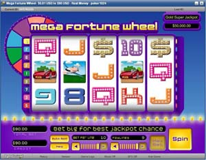 Mega Fortune Wheel Slot